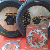 Ban set super Moto CRF ban maxxis supermoto crf150L full set