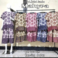 piyama kulot batik super jumbo baju tidur xxxl super nyaman