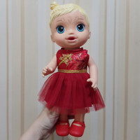 dress cheongsam merah baju baby alive mell chan Mellchan Doll