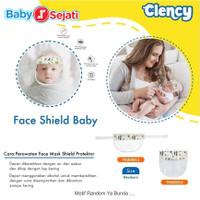 Clency Face Shield Baby New Born+