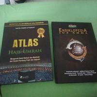 Paket Buku Atlas Haji Dan Murah dan Ensiklopedia Juz Amma ORI