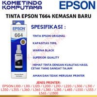 Tinta Epson 664 Original Black/cyan/Magenta/Yellow