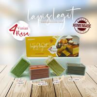 Kue Lapis Legit 4 Rasa / Layer Cake Premium