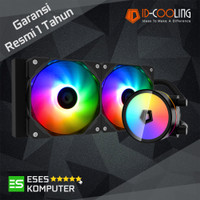 ID-COOLING ZOOMFLOW 240 XT - AIO CPU Liquid Water Cooler ARGB Sync
