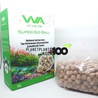 VIVARIA SUPER BIO BALL FILTER MEDIA AQUASCAPE KOLAM KOI AQUARIUM