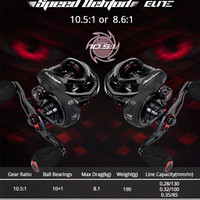 KastKing Speed Demon Elite Baitcasting Fishing Reel 10.5:1 Gear Ratio