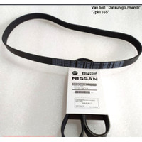 Fan Belt / Van Belt / Tali Kipas Ac Nissan March / Datsun Go 7PK 1165