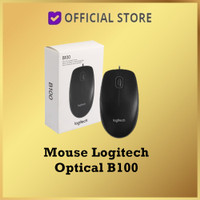 Mouse Logitech Optical B100 / Mouse Kabel Logitech B100