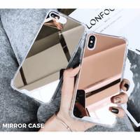 Mirror Case Anticrack Kaca Cermin Iphone XS XR 11 12 PRO MAX 7 8 Plus