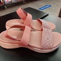Sepatu sandal Skechers walk to go original - dusty pink, 36