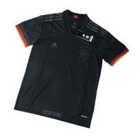 Jersey GER Away Negara 2021 Baju Futsal Kaos Bola Pria Grade Ori