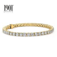 1901 Jewelry Gelang Berlian Swarovski Lapis Emas