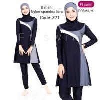 Baju renang muslimah dewasa/pakaian renang perempuan remaja muslim