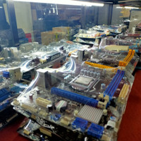 motherboard asus p5kpl socett 775 suport core 2 quad murah bergaransi
