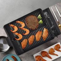 Korean Yakiniku Grill Pan Alat Pemanggang BBQ Non Stick