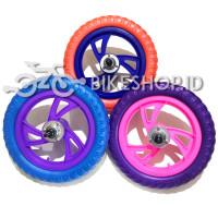 Ban Sepeda Anak Roda Mati Uk 12 Sepasang Tire Wheel 12 1/2*2 1/4