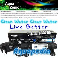 AquaZonic Lampu UV Celup Aquarium/Kolam Mini Submersible UV-C Lamp 5W