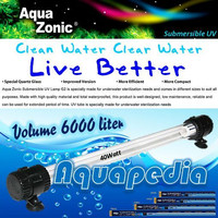 Aqua Zonic UV008 Lampu UV Celup Kolam 40watt Aquazonic Submersible UV