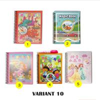 READY MAGIC WATER BOOK / magic book / hadiah anak MAINAN EDUKASI ANAK - Variant 10, 04