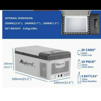 alpicool freezer mini / kulkas mini / freezer tempat vaksin /