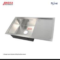 Kitchen Sink 1 Lubang Sayap / Bak Cucian Piring Thsink 8548 Sus 304