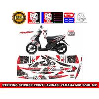 Striping sticker YAMAHA MIO SOUL MX