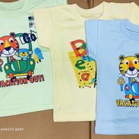 Baju oblong pendek bayi dan anak warna RIDGES/kaos katun/SNI/