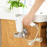 Gantungan Hair Dryer Holder Blower Rak Pengering Rambut 2 Hook Dog