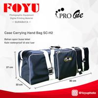Tas Lighting Lampu Stand Kit Set Case Carrying Hand Bag Pro One SC-H2
