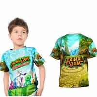 Baju Kaos Anak Laki laki dan Perempuan Film Animal Jam Tshirt Printing - 1, S