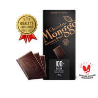 Dark Cokelat 100%  Chocolate Monggo 80  Coklat Hitam   Snack Diet Keto