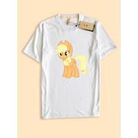 Kaos Baju Desain Apple Jack pony
