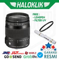 Sigma 18-200mm F/3.5-6.3 DC Macro OS HSM with Filter UV + Lenspen