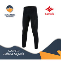 Celana Sepeda SANTIC M0C04118H Cycling Padded Breathable Long Pant - S