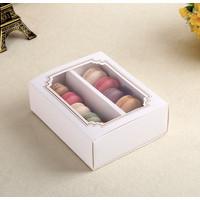 KOTAK slot b putih , kotak macaron , kotak coklat valentine