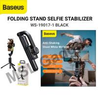 Baseus Lovely Selfie Gimbal Stabilizer Tripod Tongsis Bluetooth