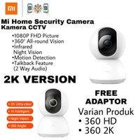 Xiaomi Mi Home Security Camera 360° 1080P - Xiaomi CCTV Ip cam Kamera