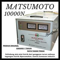 Stavolt Matsumoto 10000N Single Phase - Stabilizer Listrik 10000watt