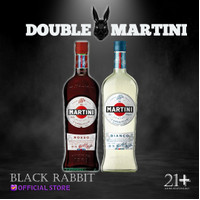 PROMO Martini Rosso & Martini Bianco Vermouth @1Liter
