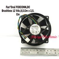Fan Kipas FOXCONN ( Cooler Master Oval DC BRUSHLESS.12 Vdc/Bealbering)