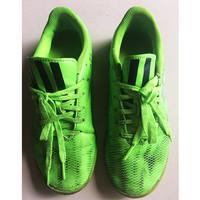 Sepatu Futsal Anak Hijau ADIDAS F10 Adizero IN Solar Green Size 37 1/3