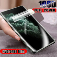 Samsung J6 Plus Anti Gores Biasa Jelly Hydrogel Full Body Full Lem