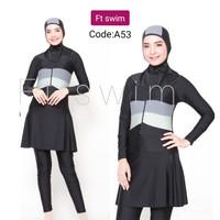 Baju renang wanita muslimah/dewasa/pakaian renang remaja muslim