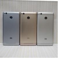 Backdoor / Tutup Kesing Belakang Xiaomi Redmi 3s Original