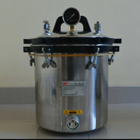 autoklaf 18 liter timer , Autoclave 18 liter timer sudah packing kayu