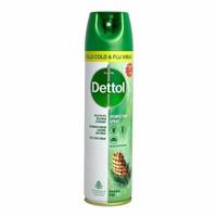 Dettol Disinfectant Spray 170 gr Hijau ORIGINAL PINE all in one