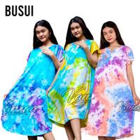 D201 Daster Mega | Dress Vega Payung | Baju Midi Tidur | casual