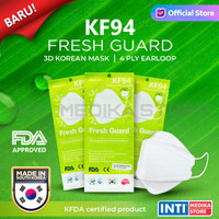 FRESH GUARD - Masker 4 ply KF94 | Masker Korea | Korean Mask SACHET