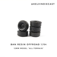 Ban Resin Diecast Off-road Offroad 1/64 12mm model All-Terrain