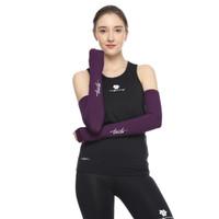 Tiento Hand Sleeve Thumbhole Arm Manset Tangan Purple Women